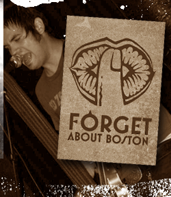 band logo forget about boston