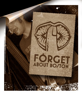 forget about boston poster